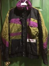 Downhill Racer Ski Jacket Men M Used In Excellent Shape With Soft Hoodie