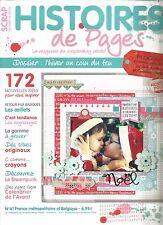 HISTOIRES DE PAGES N°61 L'HIVER / OEILLETS / GOMME A GRAVER / CALENDRIER L'AVENT