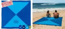 Kahuna Large Beach Blanket - Compact Sand Free Blanket, Dark Blue