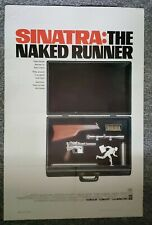 Naked Runner 1967 Frank Sinatra Francis Clifford Furie Original One Sheet Poster
