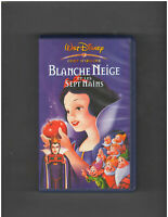 Disney - Blanche Neige Et Les Sept Nains - RARE French VHS - Snow White