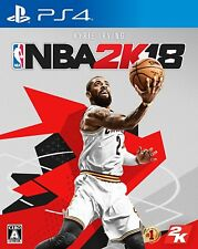 NEW PS4 NBA 2K18 JAPAN Sony PlayStation 4 import Japanese game