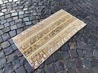 Turkish area rug, Vintage wool rug, Carpet, Handmade rug   1,8 x 3,4 ft