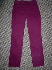 NYDJ Not Your Daughters Jeans Maroon/ Burgundy Straight~Size 2P