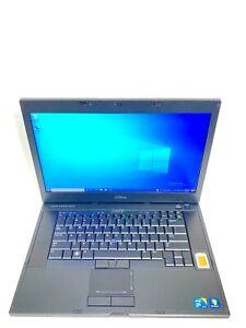 """Dell Latitude E6510 15.6"""" Core i7 740QM 1.73 GHz 8GB RAM 256GB SSD Win 10 Pro"""