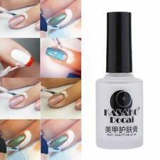 15ml DIY White Peel Off Liquid Nail Art Tape Latex Gel Palisade For Easy Clean