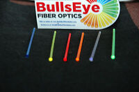 "6"" Total BullsEye FIBER OPTICS, 2.0 mm 6 COLORS  FOR  kimber FRONT SIGHT NEON"