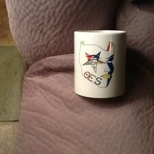 Order of the Eastern Star Mask Masonic Ceramic Coffee Mug New