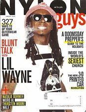 Lil Wayne Nylon Guys Magazine Jan 2015 Natalie Dormer Weird Al Thurston Moore
