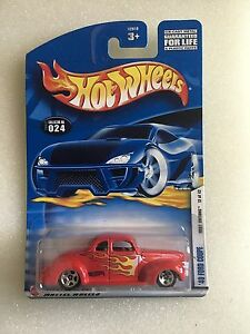 2002  HOT WHEELS FIRST EDITIONS '40 FORD COUPE #024