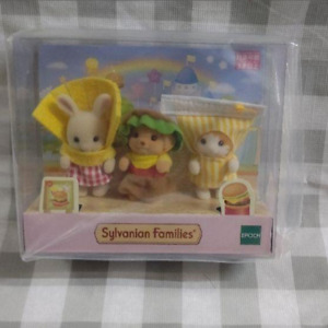 Sylvanian Families Baby Trio Hamburger Set Limited edition product  EPOCH NEW