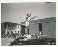 ARLINE JUDGE Leggy Original CANDID Studio Lot Vintage 1936 Fox Snapshot Photo