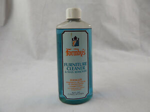 Vintage Formby's Furniture Cleaner and Wax Remover 16 oz 98% Full Bottle