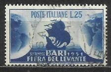1951 Italia Repubblica: Fiera del Levante a Bari, usato