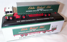 EDDIE STOBART DAF 2800 CURTAINSIDE T101 GEMMA LINDSAY 1:76 New Boxed