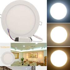 9W Ultraslim LED Panel Deckenleuchte Wandleuchte Einbauleuchte Dimmable Lampe