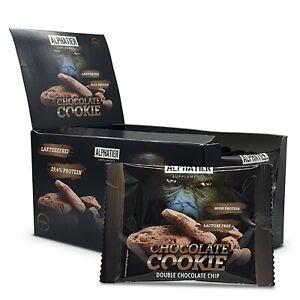ALPHA Protein Cookie 60er-Box 50 g - Proteinriegel Eiweißcookie - MHD 30.09.21