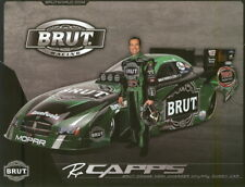2006 Ron Capps Brut Dodge Charger Funny Car NHRA postcard