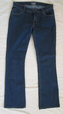 Old Navy The Flirt dark stretch boot cut blue jeans Misses 8 Long * Nice