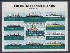 Ships, Boats Australian Cocos Islander Stamps