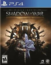 Middle Earth Shadow of War Gold Edition (PlayStation 4)