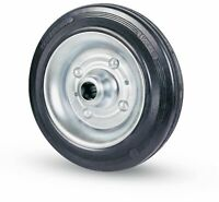 avo ruota industriale di gomma Ø mm 80x25 con cuscinetto portata 50 kg carrello