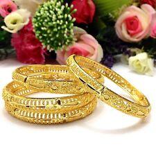 Indian Asian Size:2.8 Pakistani Bridal Jewellery 22ct Gold Plated Bangles