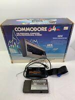Vintage Commodore 64 Personal Computer Original Box (No Computer) + Accessories!