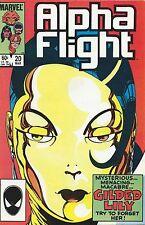 ALPHA FLIGHT 20 (Marvel Comics 1985) VFN/NM,  by JOHN BYRNE