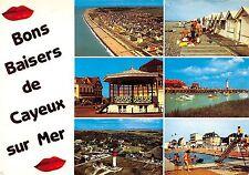 France Baisers de Cayeux sur Mer, kisses, greetings, vue generale, phare piscine