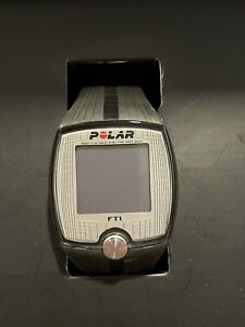 BNIB POLAR FT1 Heart Rate Monitor Watch & Chest Strap Open Box NEEDS BATTERY