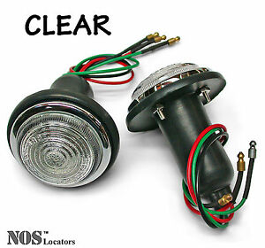 Alfa, Austin 100-4, MG ZA/ZB, Metropolitan, TR2, TR3 LUCAS Lamps CLEAR