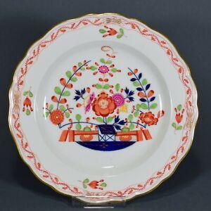 Meissen Teller Tischchenmuster Prunkteller Blumen flowers plate Platte マイセン