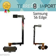 Flex Home Lector Huellas para Samsung Galaxy S6 Edge G925F Dorado