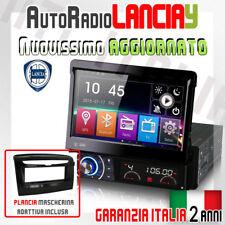 "AUTORADIO 7"" Touch Navigatore MP3 Lancia Y Ypsilon dal 2012 OBD DVD GPS + MAPPE"