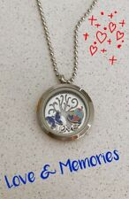 Floating Memory Love Locket Charms Special Autism Necklace Gift Set New