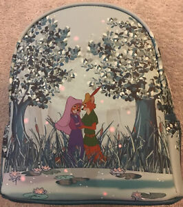 Loungefly Disney Robin Hood Mini Backpack Characters Maid Marian Forest Bag
