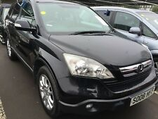 08 HONDA CR-V 2.0 I-VTEC EX **CAT D** NAV, SENSORS, SUN ROOF, ALLOYS, LEATHER!!