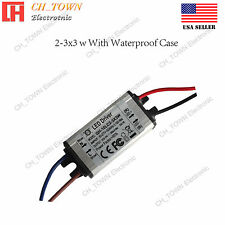 Constant Current LED Driver 10W DC 6-10v 900mA Lamp Waterproof Power Supply