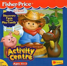 FISHER PRICE ACTIVITY CENTRE DISCOVERY FARM age 3 WIN 95,98,XP clearance bargain