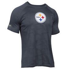 Pittsburgh Steelers Under Armour NFL Combine Authentic Jacquard Tech XL  T-Shirt 6e145d768