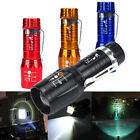 Zoomable 2200LM CREE XM-L T6 LED Flashlight 3-Modes High Power Torch light Lamp