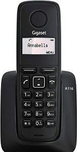 TELEFONO FIJO INALAMBRICO GIGASET A116 ORIGINAL