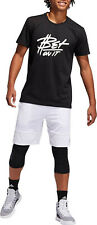 ADIDAS ClimaLite Pro Madness Basketball Shorts sz 2XL XX-Large White
