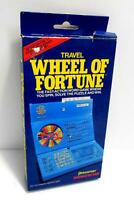 Travel Wheel Of Fortune Game 1 - 4 Players Ages 8 To Adult, Vintage 1988