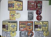 Sims 2 Expansion Lot of 5 PC Games & Manuals