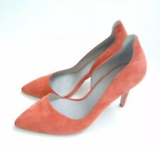 Designer REISS Alberta cut-out court shoes size 40 UK --USED TWICE-- salmon pink