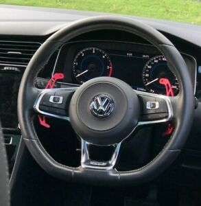 VW Golf MK7 R GTI GTD Red Replacement Paddle Shifters Paddles Scirocco Polo