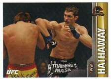2015 Topps UFC Champions Gold Parallel /25 #168 John Hathaway