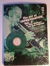 Music Minus One - Improvisation: The Art of Improvisation Vol.2, for All Instr.